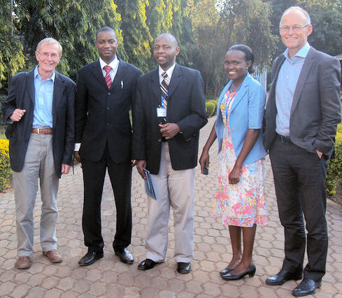 Facilitators CEBHA workshop Tanzania