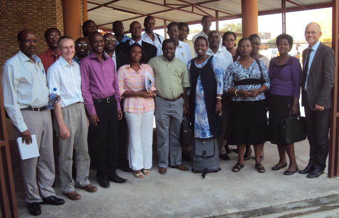 Participants CEBHA workshop Burundi 2013