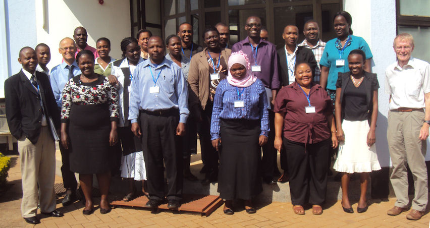 Participants CEBHA workshop Tanzania 2013
